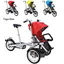ruituo ™ Taga bicicleta plegable 16inch madre cochecito de bebé moto 3 en 1