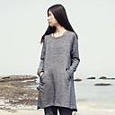 xianran-womens-round-collar-long-sleeve-loose-waist-medium-down-sweatshirt