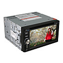 """6.2"""" Motorized Touch Screen 2-Din Car DVD Player with DVD,ATV,Bluetooth,Ipod,FM,SD/USB,SWC"""