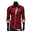 estilo de otoño menmax camisas sleevecasual largos casuales mbb-hw-a20
