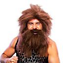 miedo piratas del caribe 40cm peluca del partido de halloween de los hombres con barba