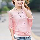 Zian Womens Bateau Collar Cut Out Woolen Yarn Bat Sleeves Loose Fit Knitwear