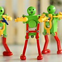 amarillas juguetes de cuerda verde robot baile rojo de primavera