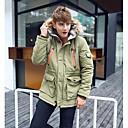 amantes de la moda de los hombres Hengyi abrigo cálido