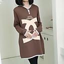 algodón de la maternidad de las mujeres flojas de la camiseta