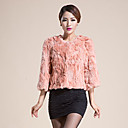 abrigo de piel elegante de la moda de invierno de las mujeres Baoli 9326