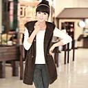 Yifeite Women's Fashion Imitation Fur Vast