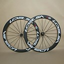 700c udelsa U50 tubular ruedas de bicicleta de carbono ancho 23mm profundidad 38mm forma de u llantas