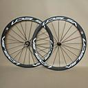 700C UDELSA U38T Lightweight Carbon Road Wheel 38mm Tubular Rim with Novatec A271SB/S372SB