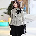 abrigo coreano Ruizhi dama delgado bowknot