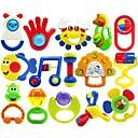 15pcs colorido multi-forma de los niños juguetes de la campana de llamada bebé