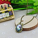 Womens Galaxy Small Fresh Time Gem Necklace