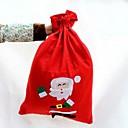 bolsas de tela de alta calidad no tejida de regalo de Navidad de caramelo (tamaño pequeño, 40  30cm, patrón aleatorio)
