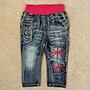100% algodón pantalones casuales pantalones de moda infantil para niños antumn bebé invierno pantalones