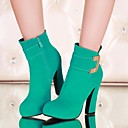Womens Shoes Round Toe Chunky Heel Ankle Boots More Colors available