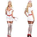 Atraer White Girl Uniform Nurse