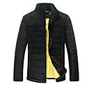algodón coreano conjunta abrigo puntos calientes adelgazan senleisi hombres