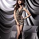 la moda de la ropa interior de leopardo sin respaldo de Xiaolu mujeres