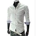 camisa de manga larga slim fit estilo coreano de los hombres Urun