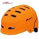 adulto ahueca hacia fuera diseño de la cabeza ajustable correa de pvc bicicleta de seguridad al aire libre del casco patineta bicicleta