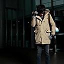 cálido abrigo con capucha de los hombres xl Hengyi