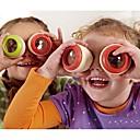 2pcs juguetes ojo compuesto caleidoscopio de madera (color al azar)