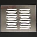 12 pares de pegatina del párpado doble cara con la herramienta y