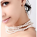 Womens Wild Pearl Necklace