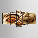Image For Set Tela AstrattoCinque Pannelli Orizzontale Stampa artistica Decorazioni da parete For Decorazioni per la casa