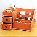 1pcs caja de cosméticos de almacenamiento de escritorio