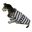 Louis Checkerboard Fashion Hats Coats for Dogs Pets