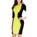VERYM Women's Elegance Sexy Bodycon Dresses