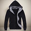 cálida coat_29 manga larga de los hombres casuales SMR