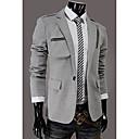 blazers slim fit de los hombres casuales wshgyy