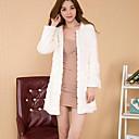 Yifeite Women's Fashion Imitation Fur Coat