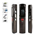 8gb grabadoras de voz digitales usb grabadora de voz digital con función mp3 plata