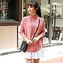 ajuste holgado lana causual géneros de punto de las mujeres Weishang