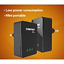 comfast cf-wp500m 500Mbps rj45 mini-homeplug adaptadores de red Powerline AV eu plug - negro (2 piezas)