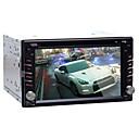 4.2.2 6.2 '' reproductor de DVD del coche alegre android 2 din para Universal con gps, bt, rds, wifi, pantalla táctil capacitiva