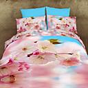 maison 13d ropa de cama de la impresión floral de cuatro piezas con pulsera de perlas gratis