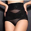 sexy abdomen cintura alta y el patrón de la cadera ropa interior delgada de la mujer
