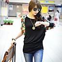 Zian Women Fashion Pullover Loose T-Shirt