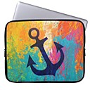 Elonbo Beautiful Anchor 13 Laptop Neoprene Protective Sleeve Case for Macbook Pro/Air Dell HP Acer