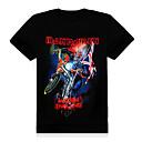 AFEC manga corta 3d superestrella camiseta impresa de los hombres