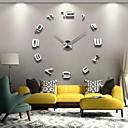 """Image of 39 """"w fai da te numeri specchio 3d orologio da parete adesivo acrilico"""