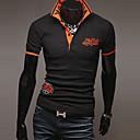 informal camisa de todo partido de polo de los hombres hisen