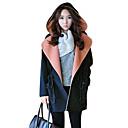 abrigo de lana de la moda de invierno de las mujeres Baoli 8982