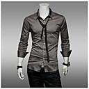 estilo de otoño menmax largas camisas sleevecasual casuales 1414-CS16