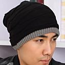 Conjunto de moda de los hombres al aire libre de la gorra de lana caliente cabeza