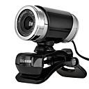 12 megapíxeles usb 2.0 mini-cámaras web en el clip con micrófono